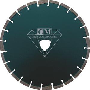 LameDiamantée 14''x0.120'' Béton frais avec soff shaft(10-25