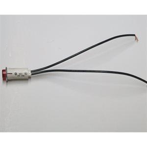 24V LED Red Light w / Leads