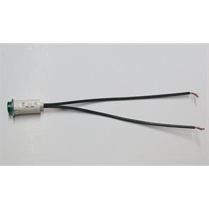 24V LED Green Light w / Leads
