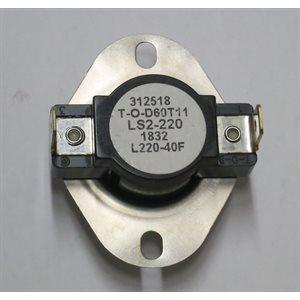 LS2-220-40F High Limit (OHV OIL LP / NG)