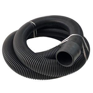 2'' vacuum hose with cuff, 25 ft