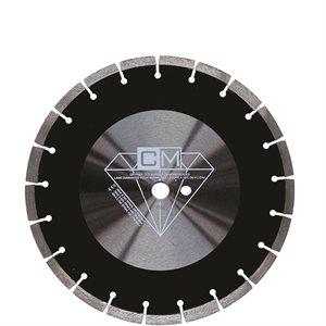 """Lame Diamantée 12"""" x 20mm / 1"""" pour Asphalte - qualité Standar"""
