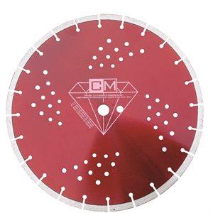 """14"""" x 20mm / 1"""" lame diamantee pour Pave Uni"""