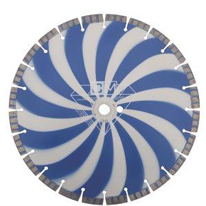 """Lame Diamantée 14"""" x 20mm / 1"""" pour Béton&Asphalte - qualité"""