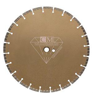 """Lame Diamantée 14"""" x 1"""" pour Briques Belden"""