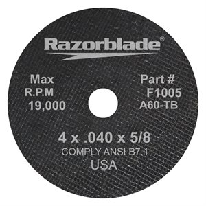 Abrasive blade for metal (T1)