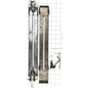 """Skid Plate for 12""""x0.125"""" grreen concrete blade"""