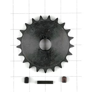 Sprocket,21 T w / set screws & key