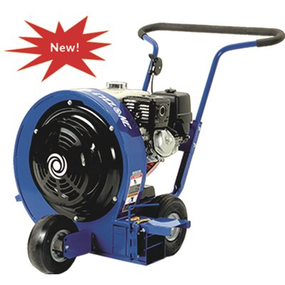 Wheeled Blower, metal frame construction, 9HP GX270
