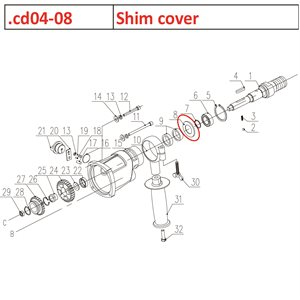Shim cover