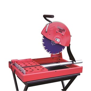 """14"""" Masonry Saw (avec support / with stand)"""