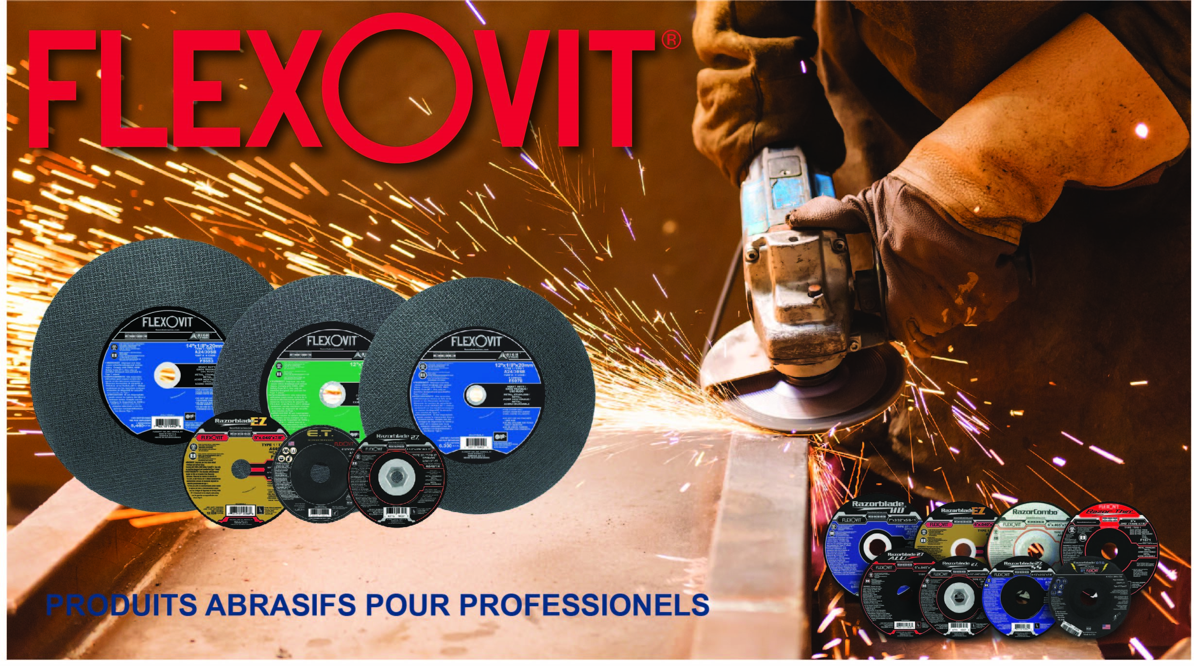 Flexovit CM Equipment Banner Ad French 3.0